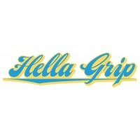 Hella Grip Logo Scooter Sticker 2020