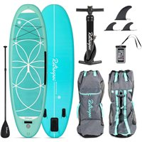 Retrospec Weekender-Yogi 10 Inflatable Paddle Board Seafoam 2020