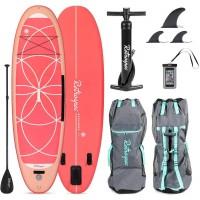 Retrospec Weekender-Yogi 10 Inflatable Paddle Board Coral 2020