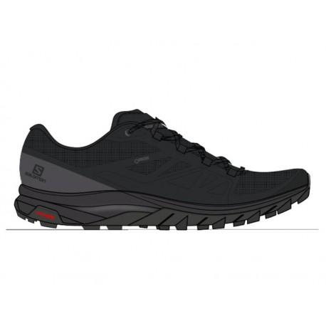 Salomon Shoes Outline Wide GTX Black/Phantm/Magnet 2020
