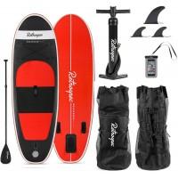 Retrospec Nano 8 Inflatable Paddle Board Black 2020