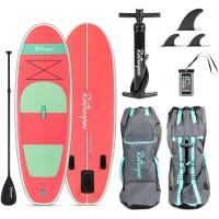 Retrospec Nano 8 Inflatable Paddle Board Coral Seafoam 2020