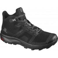 Salomon Shoes Outline Prism Mid GTX W Black/Quarry 2020