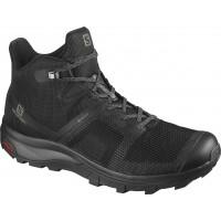 Salomon Shoes Outline Prism Mid GTX Black/Black 2020