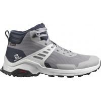 Salomon Shoes X Raise Mid GTX Frost Gray/Lunar Rock/Navy Blazer 2020