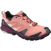 Salomon Shoes XA Rogg GTX W Burnt Coral/Black/Lunar Rock 2020