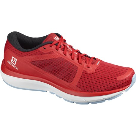 Salomon Shoes Vectur Goji Berry/White/Ethereal Blue 2020