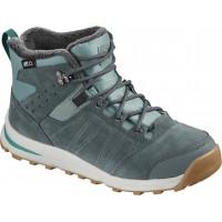 Salomon Shoes Utility TS CSWP Junior Trellis/Stormy Weather/Tropical Green 2020