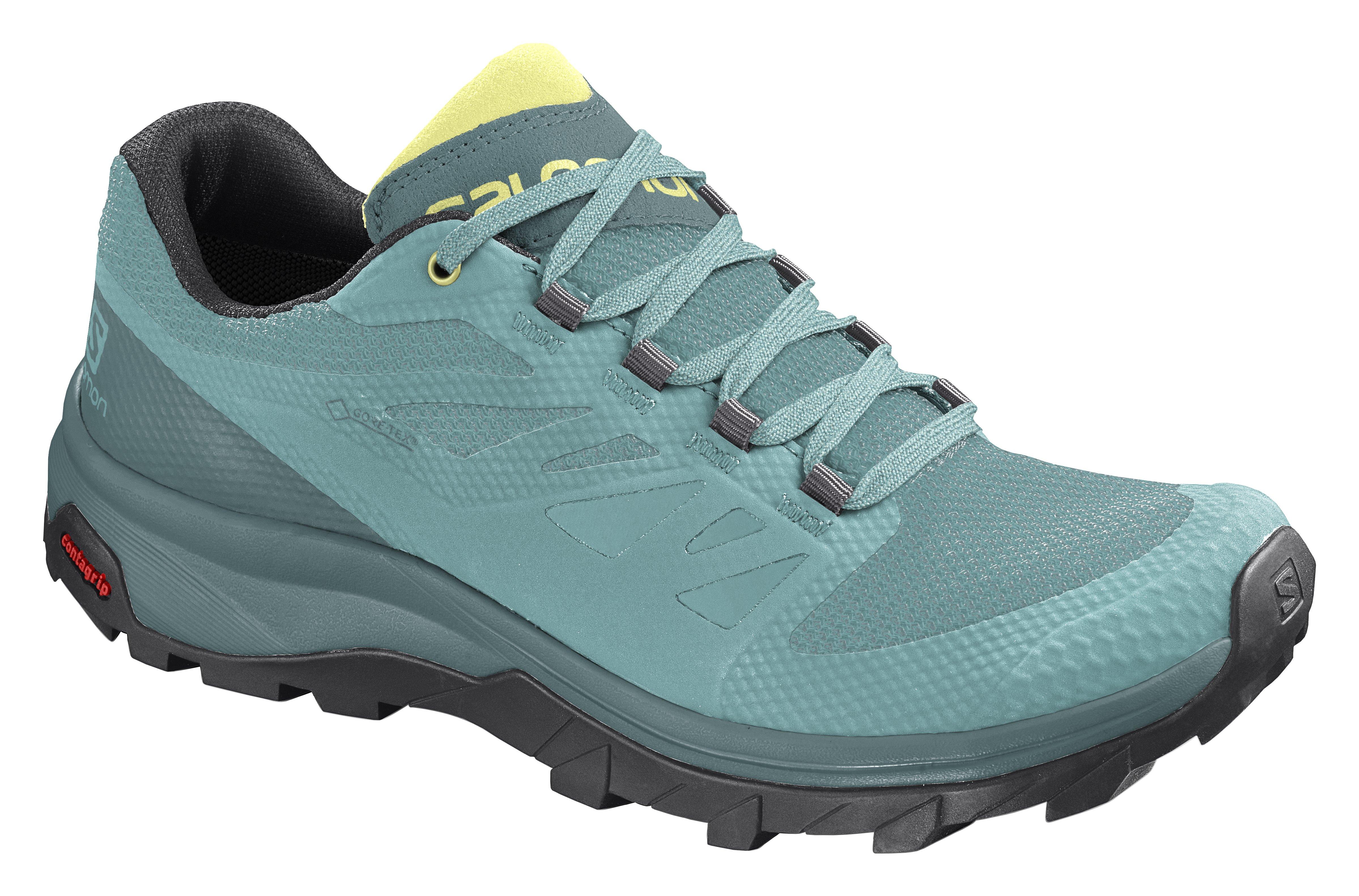 6 Meadowbrook//North Atlantic//Charlock Salomon Womens Outline GTX W Hiking
