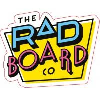 Skateboard RAD Logo Sticker 2020