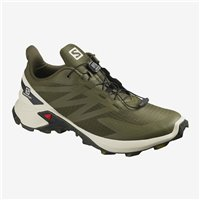 Salomon Shoes Supercross Blast GTX Olive Night/Black 2020