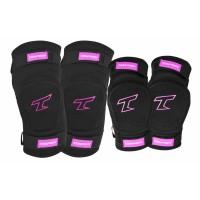 Tempish Bing Knee And Elbow Sleeves Skate Pads Pink 2020