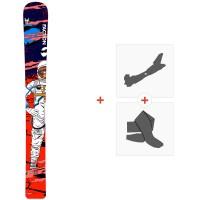 Ski Faction Mono Ski 2021 + Fixations de ski randonnée + Peaux35175