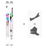 Ski Faction Prodigy 0.5x 2021 + Tourenbindungen + Felle35036