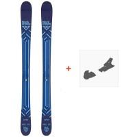 Ski Black Crows Junius 2021 + Fixations de ski36616