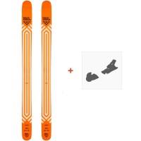 Ski Black Crows Nocta 2021 + Fixations de ski36601
