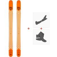 Ski Black Crows Nocta 2021 + Fixations de ski randonnée + Peaux36601