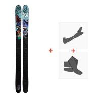 Ski Volkl Revolt 104 2021 + Fixations de ski randonnée + Peaux39085