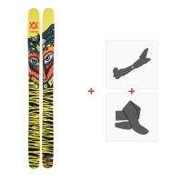 Ski Volkl Revolt 121 2021 + Fixations de ski randonnée + Peaux39083