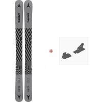 Ski Atomic Punx JR 110-130 2021 + Fixations de ski38328