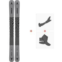 Ski Atomic Punx JR 110-130 2021 + Tourenbindungen + Felle38328