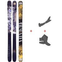 Ski Armada ARV 96 2021 + Tourenbindungen + Felle 39459