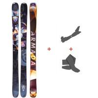 Ski Armada ARW 96 2021 + Tourenbindungen + Felle39468