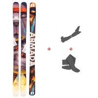 Ski Armada Bdog 2021 + Tourenbindungen + Felle39470